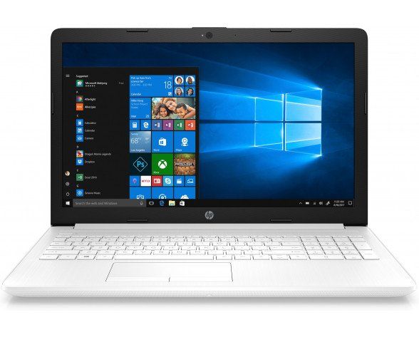 "HP 15-db0100ns Blanco Portátil 39,6 cm (15.6"") 1366 x 768 Pixeles 7.ª generación de APU AMD Serie A9 8 GB DDR4-SDRAM 256 GB SSD Windows 10 Home"