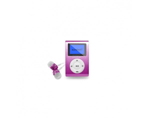 Sunstech DEDALOIII MP3 4GB Rosa
