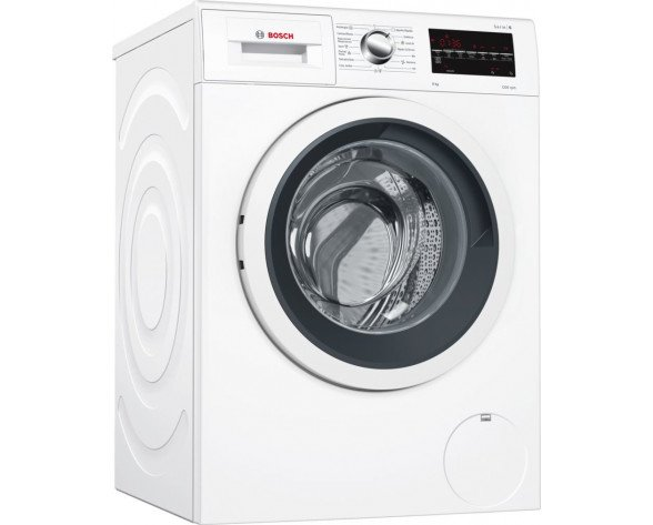 Bosch Serie 6 WAT24491ES lavadora Independiente Carga frontal Blanco 9 kg 1200 RPM A+++-30%