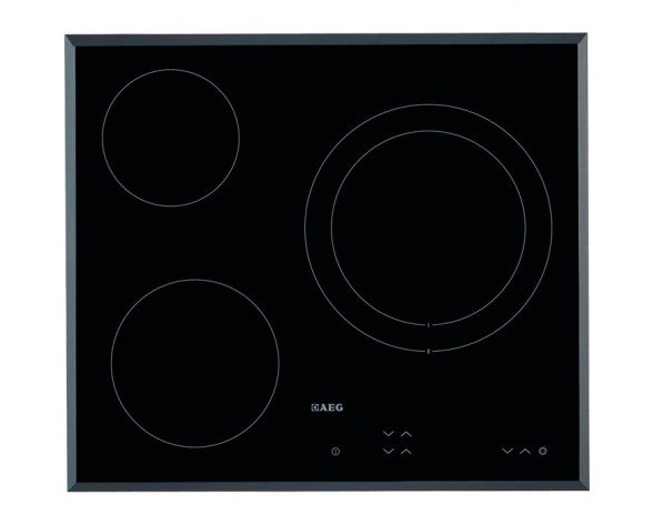 AEG HK623021FB hobs Negro Built-in (placement) Cerámico 3 zona(s)