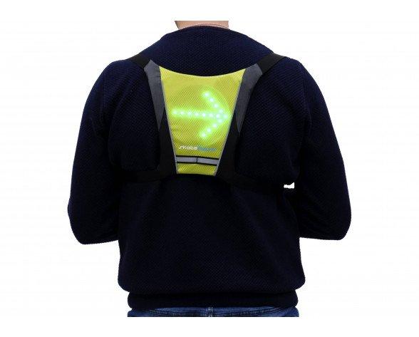 Skateflash Reflective vest Chaleco Negro, Verde Nylon Talla única Ciclismo