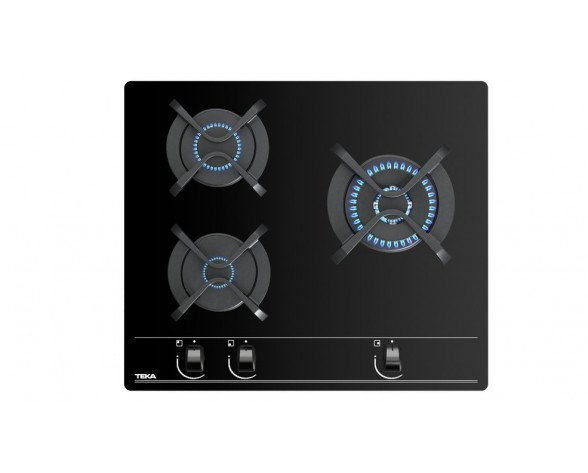 Teka GBC 63010 Negro Integrado 60 cm Encimera de gas 3 zona(s)