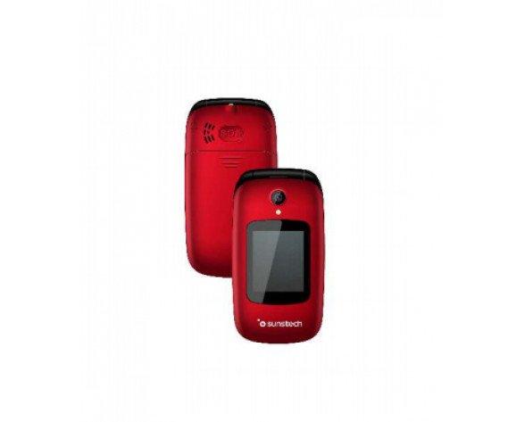 "Sunstech CELT22 6,1 cm (2.4"") 96 g Negro, Rojo Característica del teléfono"