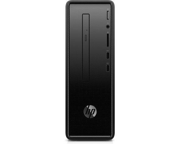 HP Slimline 290-p0088ns 8ª generación de procesadores Intel® Core™ i3 i3-8100 8 GB DDR4-SDRAM 1128 GB HDD+SSD Escritorio Negro PC Windows 10 Home