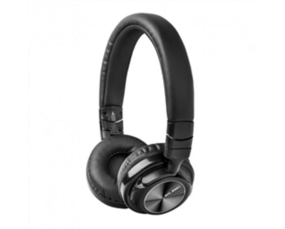 ELBE ABT-590-N auricular y casco Auriculares Diadema Conector de 3,5 mm Bluetooth Negro