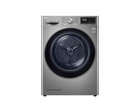 LG RC90V9EV2Q secadora Independiente Carga frontal Acero inoxidable 9 kg A+++