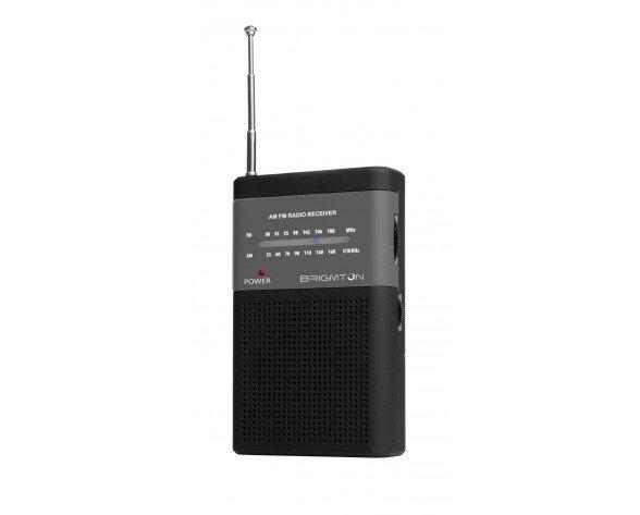 Brigmton BT-350-N radio Portátil Digital Negro