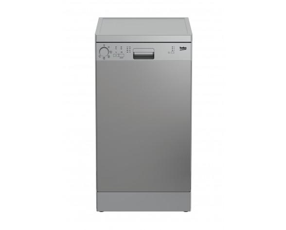 Beko DFS05024X lavavajilla Independiente 10 cubiertos E