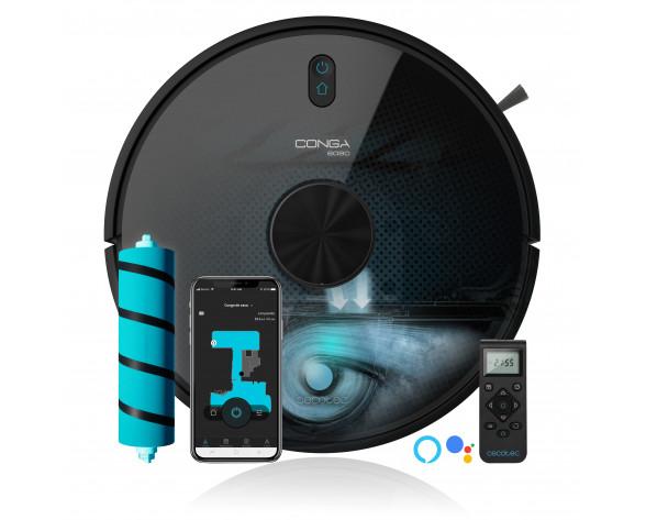 Cecotec Conga 6090 Ultra aspiradora robotizada Sin bolsa Negro