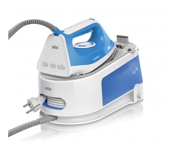Braun CareStyle 1 IS 1012 BL 2400 W 1,5 L Suela de cerámica Azul, Blanco