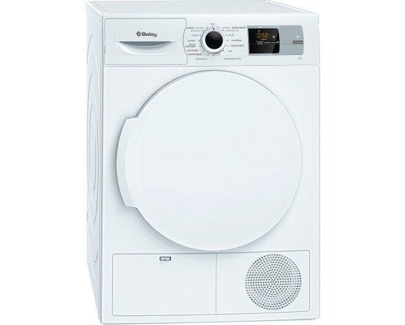 Balay 3SB285B Independiente Carga frontal 8kg A+ Color blanco secadora