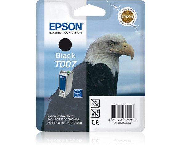 Epson Eagle Cartucho T007 negro (etiqueta RF)