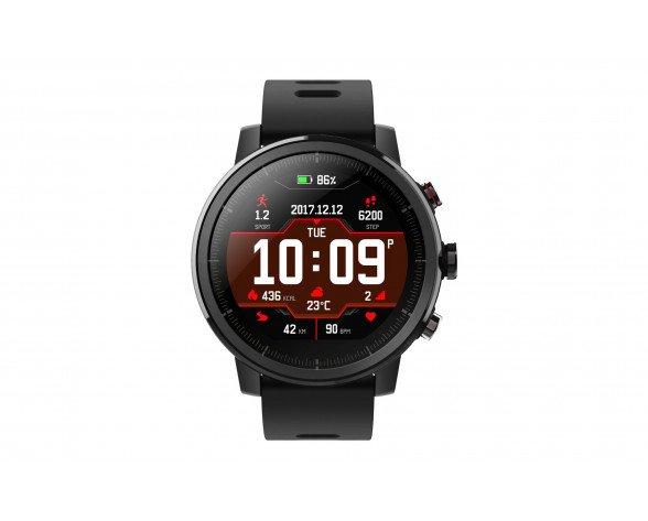 "Amazfit Stratos reloj inteligente Negro LCD 3,4 cm (1.34"") GPS (satélite)"