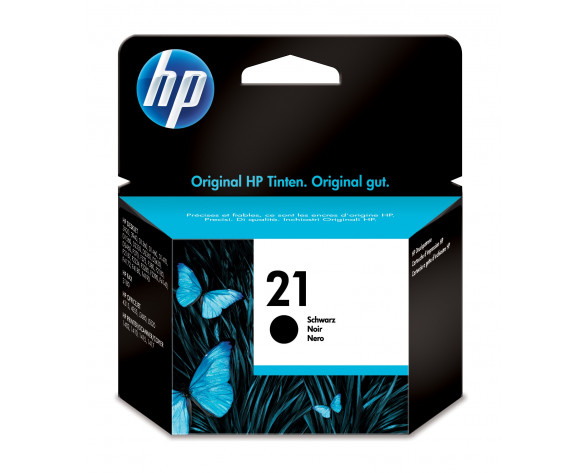 HP Cartucho de tinta original 21 negro