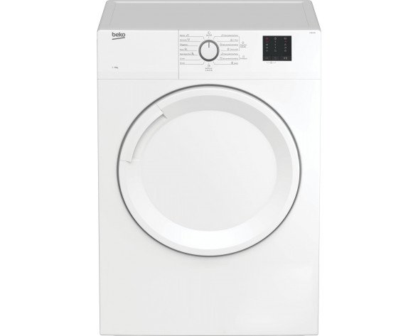 Beko DV8120N secadora Independiente Carga frontal Blanco 8 kg C