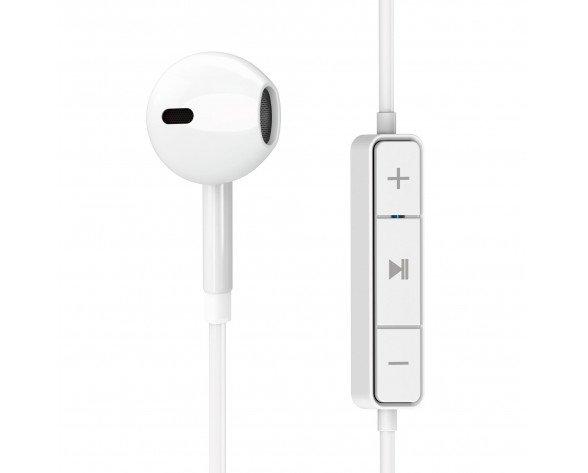 Energy Sistem Earphones 1 Auriculares Dentro de oído, Banda para cuello MicroUSB Bluetooth Blanco