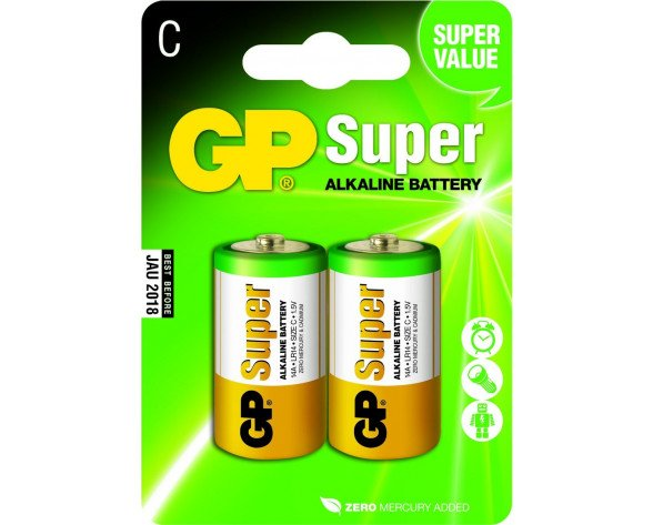 GP Batteries Super Alkaline C Single-use battery Alcalino 1,5 V