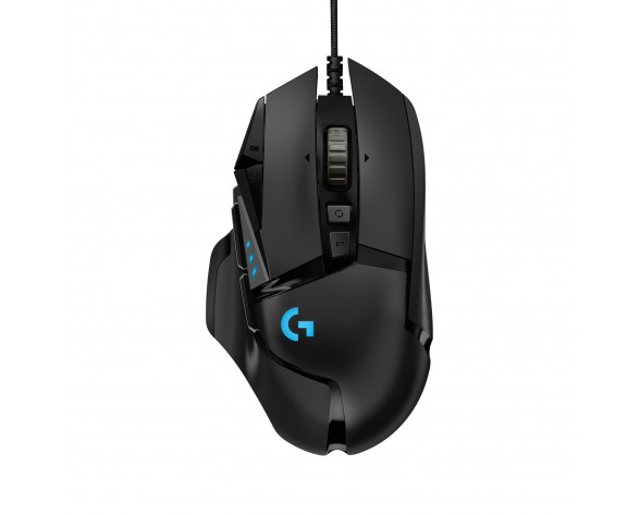 Logitech G G502 HERO ratón mano derecha USB tipo A Óptico 16000 DPI