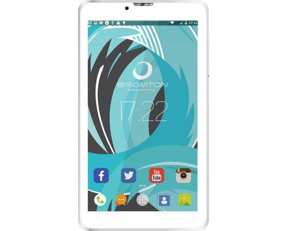 "Brigmton BTPC-PH6-B tablet 17,8 cm (7"") Spreadtrum 1 GB 8 GB Wi-Fi 4 (802.11n) 3G Negro Android 6.0"