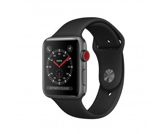 Apple Watch Series 3 reloj inteligente Gris OLED Móvil GPS (satélite)