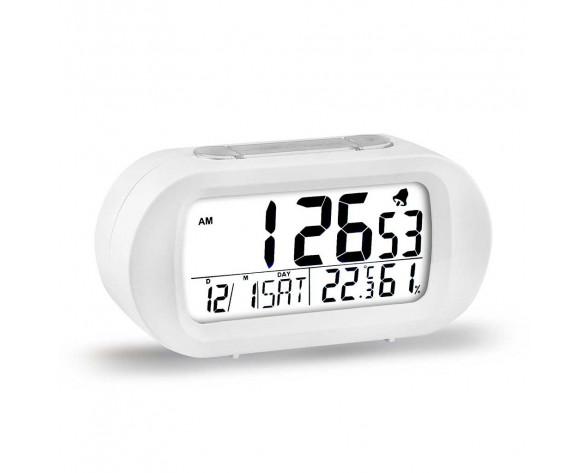 ELBE RD-009-B despertador Reloj despertador digital Blanco