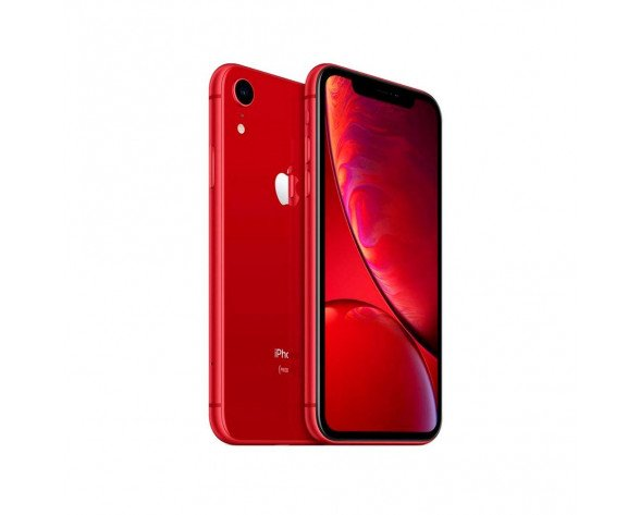 "Apple iPhone XR 15,5 cm (6.1"") 64 GB SIM doble Rojo"