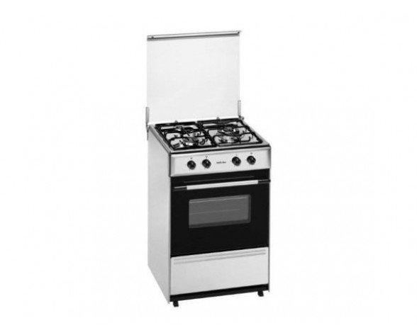 Meireles G 1530 DV X cocina Cocina independiente Acero inoxidable Encimera de gas