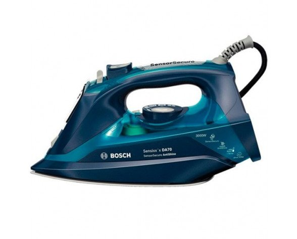 Bosch TDA703021A Steam iron 3200W Azul plancha