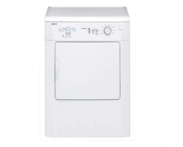 Beko DV 7110 Independiente Carga frontal 7kg C Color blanco secadora