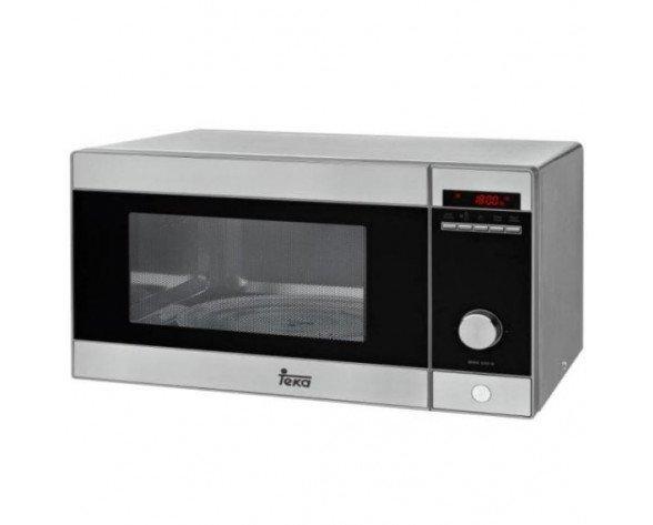 Teka MWE 230 G Encimera Microondas con grill 23L 800W Negro, Acero inoxidable