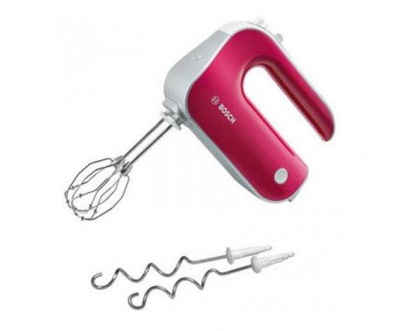 Bosch MFQ 40304 Hand mixer 500W Rojo, Color blanco