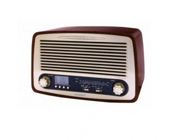Sunstech RPR4000 Personal Analógica Madera radio