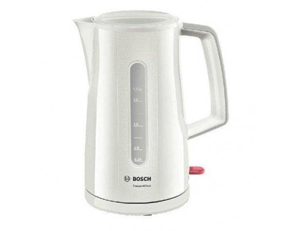 Bosch TWK3A011 tetera eléctrica 1,7 L Gris 2400 W