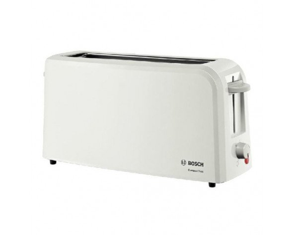 Bosch TAT3A001 2slice(s) 980W Color blanco tostadora