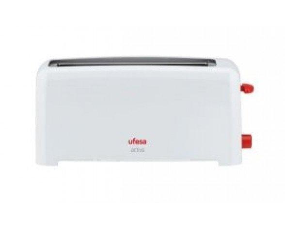 Ufesa TT7361 Activa 2slice(s) 1000W Color blanco tostadora