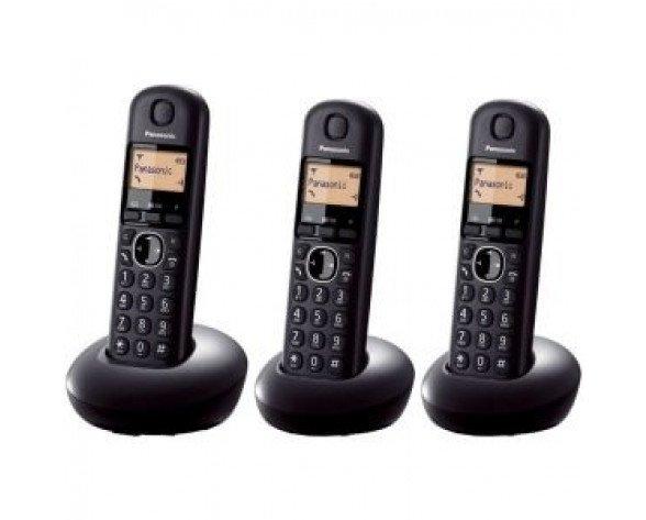 Teléfono inalámbrico trío Panasonic KX-TGB213SP