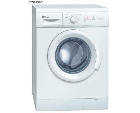 Balay 3TS873BC Independiente Carga frontal 7kg 1000RPM A+++ Color blanco lavadora