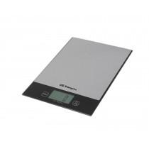 Orbegozo PC 2026 Báscula electrónica de cocina Negro, Acero inoxidable Encimera Rectángulo