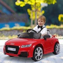 Coche Electrico HOMCOM Audi Infantil roj