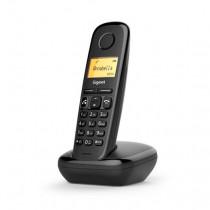 Gigaset A270 Teléfono DECT Negro Identificador de llamadas