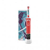 Oral-B Kids 80336889 cepillo eléctrico para dientes Niño Cepillo dental giratorio Rojo, Blanco