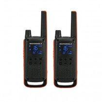 Motorola Talkabout T82 two-way radios 16 canales 446 - 446.2 MHz Negro, Naranja