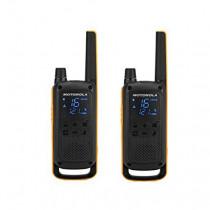 Motorola Talkabout T82 Extreme Twin Pack two-way radios 16 canales Negro, Naranja