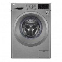 LG F4J5TN7S lavadora Independiente Carga frontal Gris 8 kg 1400 RPM A+++