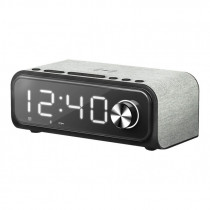 Energy Sistem Clock Speaker 4 Reloj despertador digital Negro, Gris