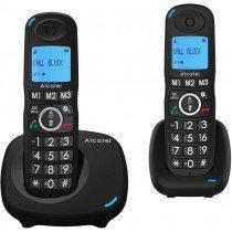 Alcatel XL535 DUO Negro Identificador de llamadas