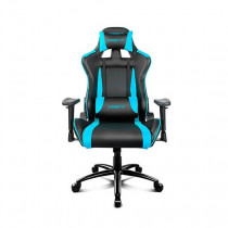 DRIFT DR150BL silla para videojuegos Silla para videojuegos universal Asiento acolchado Negro, Azul