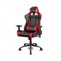 DRIFT DR150BR silla para videojuegos Silla para videojuegos universal Asiento acolchado Negro, Rojo
