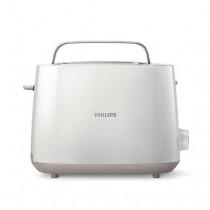 Philips Daily Collection Tostador con 8 ajustes y rejilla calientabollos integrada