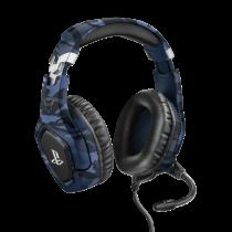 Trust GXT 488 Forze PS4 Auriculares Diadema Negro, Azul